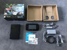 Nintendo Wii U Mario Kart 8 Premium Pack 32GB Console Black Boxed