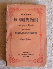 L'arte di convitare - Giovanni Rajberti
