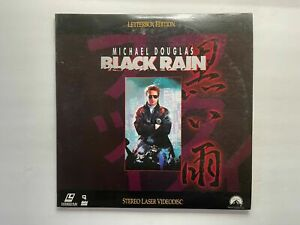 laserdisc - BLACK RAIN - 1989 - Michael Douglas, Andy Garcia, Ken Takakura