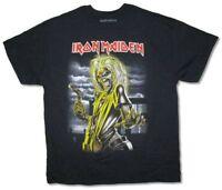 Iron Maiden Killers Front Print Ed Album Art Black T Shirt New Official Merch
