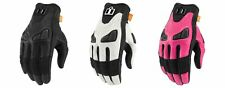 Icon Automag Women's Leather Gloves for Street Motorcycle Riding