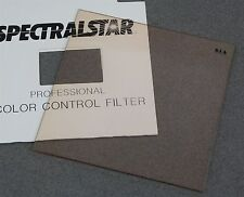 "4"" x 4"" 100mm Square RESIN FILTER SPECTRALSTAR PRO WRATTEN 81A COLOR CONVERSION"