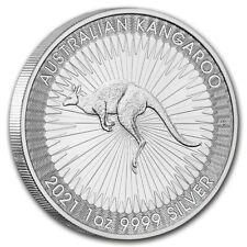 AUSTRALIE 1 Dollar Argent 1 Once Kangourou 2021