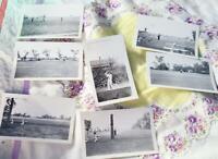 7 Vintage Estate Photographs 1938 1944 Golf Golfing Photos