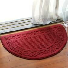 Half Round Non Slip Household Entrance Bathroom Indoor Outdoor Mat Doormat
