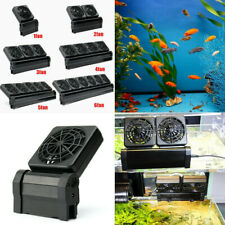 Fish Tank Aquarium Cooling Cold Wind Chiller Water Cool Fans 1/2/4 Heads
