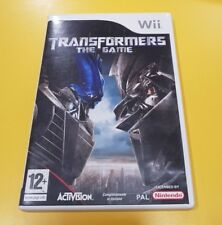 Transformers The Game GIOCO WII VERSIONE ITALIANA