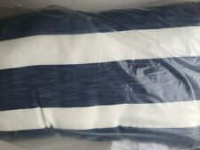 "Pottery Barn Noah Striped Indoor/Outdoor Pillow Lumbar NEW 14"" x 24"""