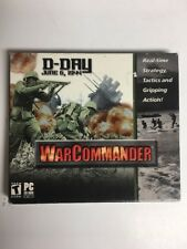 D-Day June 6, 1944 War Commander (PC) Game Warcommander