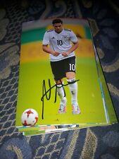 Signiertes Foto Nadiem Amiri DFB TSG Hoffenheim NEU Bayer Leverkusen