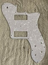 Fits Fender Squier US 72 Telecaster Deluxe P90 Guitar Pickguard,4Ply White Pearl