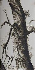 DIAZ GERARD. Gravure originale. Carte de vœux 1982 galerie Sagot Le Garrec. Dime