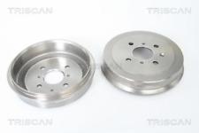 2x Bremstrommel TRISCAN 812028207 hinten für CITROËN PEUGEOT TOYOTA