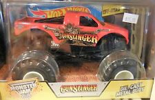 2014 Hot Wheels Monster Jam Truck 1:24 Scale Gunslinger