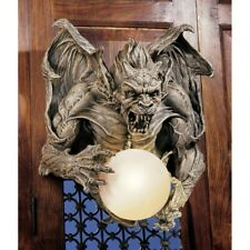 Gothic Gargoyle Globe Lamp Medieval Electric Wall Sconce