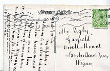Genealogy Postcard - Family History - Rigby - Lamber Head Green - Wigan U4010