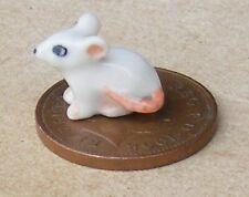 1:12 Échelle Blanc Céramique Souris Tumdee Poupées Maison Miniature Animaux I
