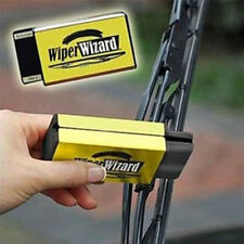 Car Van Wiper Wizard Windshield Wiper Blade Restorer Cleaner with 5 Wizard Wipes