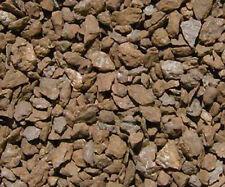 Natural Stone Ballast H0 scale 16oz. by volume medium rust