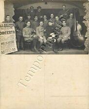 Prima guerra mondiale - Concerto di soldati musicisti