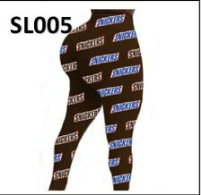 Snickers Sexy Yoga Pants Women High Waist Elastic Leggings / 1 Day Free Shipping