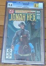 Jonah Hex #67 CGC 9.8 WHITE 1982 DC Comic Book
