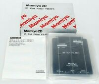 Excellent++ Unused Mamiya ZD IR Cut Filter YB301 Manual,Box from Japan