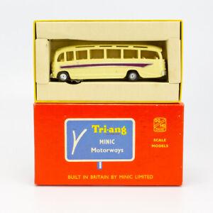 Tri-ang Minic Motorways - M.1544 Coach - OO Gauge Slot Car- Boxed