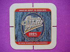 Cool Beer Bar Coaster <> Bavaria Weitz 100% Weizenmalz ~ Bavaria Bayern, GERMANY