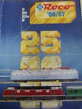 Catalogo ROCO 1986-87 H0 0 N - DEU - Tr.4