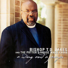 A Wing and A Prayer - TD Jakes - New - FREE Shipping!