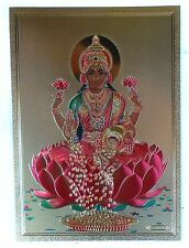 BILD Lakshmi LAXMI Hinduismus Kunststoff INDIEN Altarbild Vorlage Tattoo (18