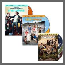SHAMELESS US Version Season 1, 2 & 3 DVD Set R4 TV Series New & Sealed 1 - 3