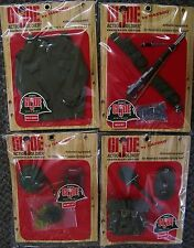 GI joe club exclusives 40th anniversary accessory sets mip never opened 12 inch