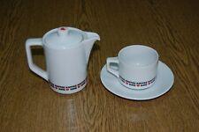 KAFFEE HAG Germany 1 Kaffeegedeck rotes Herz Tasse Unterteller wie neu