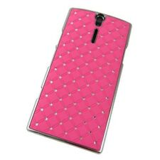 Hard Case/Protection-Coque Sony Xperia S Arc HD lt26i Bling Strass Hot Pink Coque
