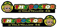 TP Rossi THE DOCTOR Windscreen Screen Decals Stickers 2017 2018 2019 Season 1091