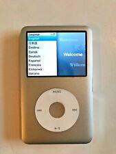 Apple iPod Classic 7th Gen Silver 160 GB