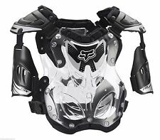 Fox Racing R3 Roost Deflector Black Clear Chest Protector Youth Small