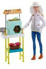 *New* Mattel Barbie Bee Keeper Playset
