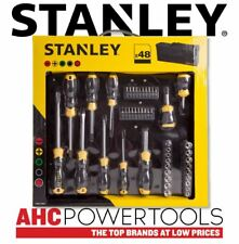Stanley Screwdriver Socket and Bit Set with Bag 48 Piece - STHT0-70887