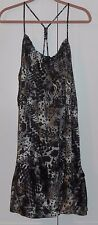 LYS (LOVE YOUR STYLE) BROW PRINT FULL & FLOUNCY TUNIC TOP - SIZE 3XLARGE PLUS