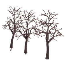 10x1:75 bare trunk trees Street Railway Model Rr Trains Layout Scenery Decor