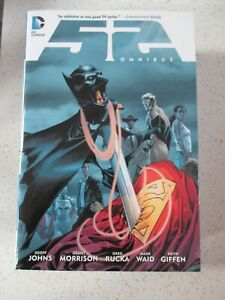 DAMAGED DC The Fifty-Two Omnibus Comic By Geoff Johns Grant Morrison Hardcover