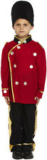 Childs Busby Guard Fancy Dress Costume Kids Dress Up Age 4-6 Years P10229