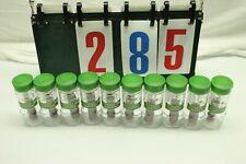 10 bottles of McCormick Gourmet All Natural Spanish Saffron. .06 oz NON GMO