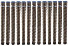 """13 NEW 2015 Winn Dri-Tac DriTac Wrap Midsize +1/16"""" Dark Gray Golf Grip 17423"""