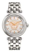 Versace Women's VQE110016 KHAI Medusa Swiss Made Stainless Steel Bracelet Watch