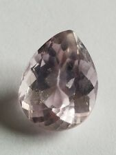 *US***SELLER* Natural Pink Kunzite 5.91 Ct Afghanistan Pear Shape Loose Gemstone