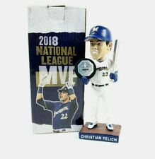 Christian Yelich 2018 NL MVP & Silver Slugger Bobblehead Milwaukee Brewers